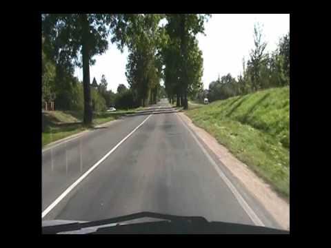 Autofahrt nach Groß – Trakehnen Teil 1.wmv