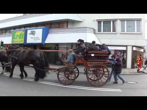 Pferdemarkt Bernhausen Filderstadt Kutschen mit Konrad Ehlers Klingenhof Plieningen 2012
